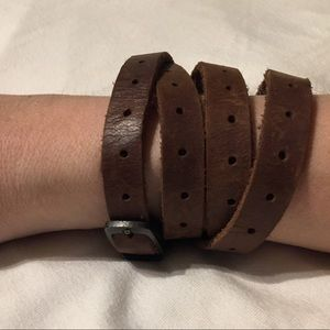 Frye leather wrap